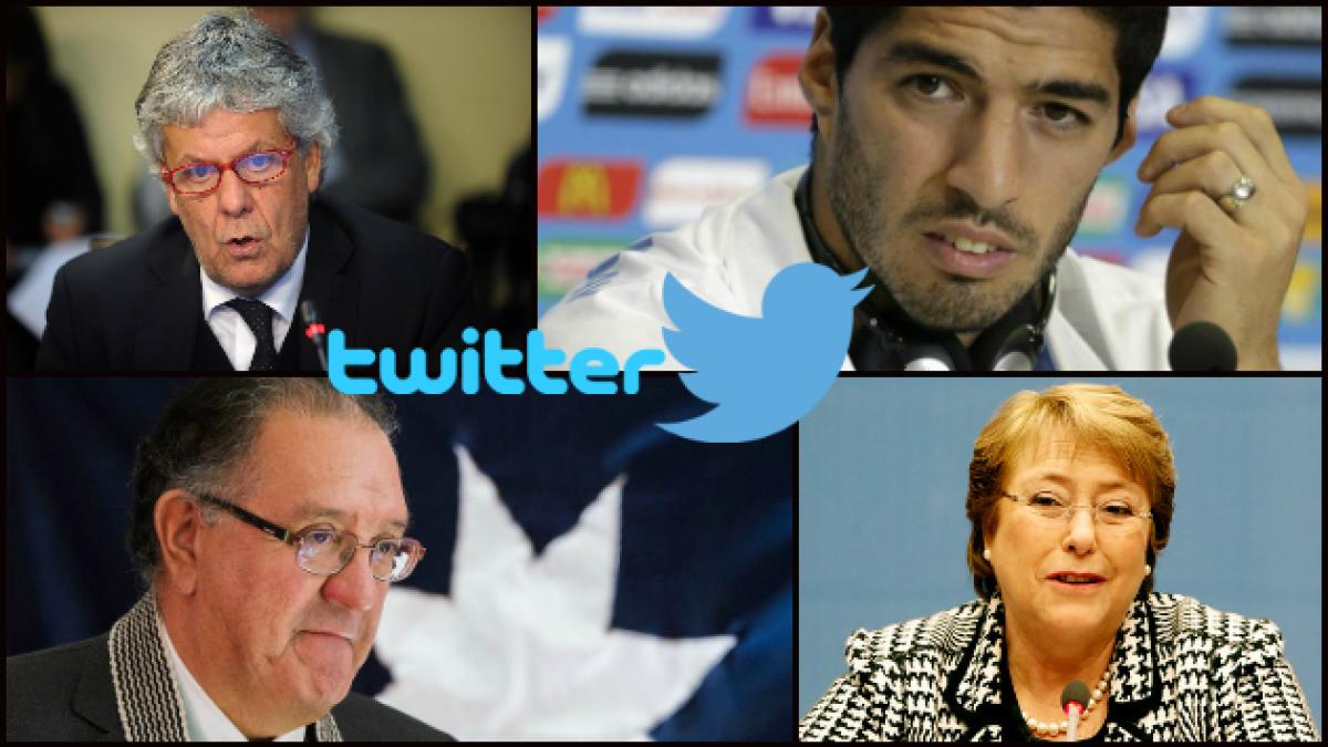 Desde la Reforma educacional a la mordida de Luis Suárez: la semana en tuits