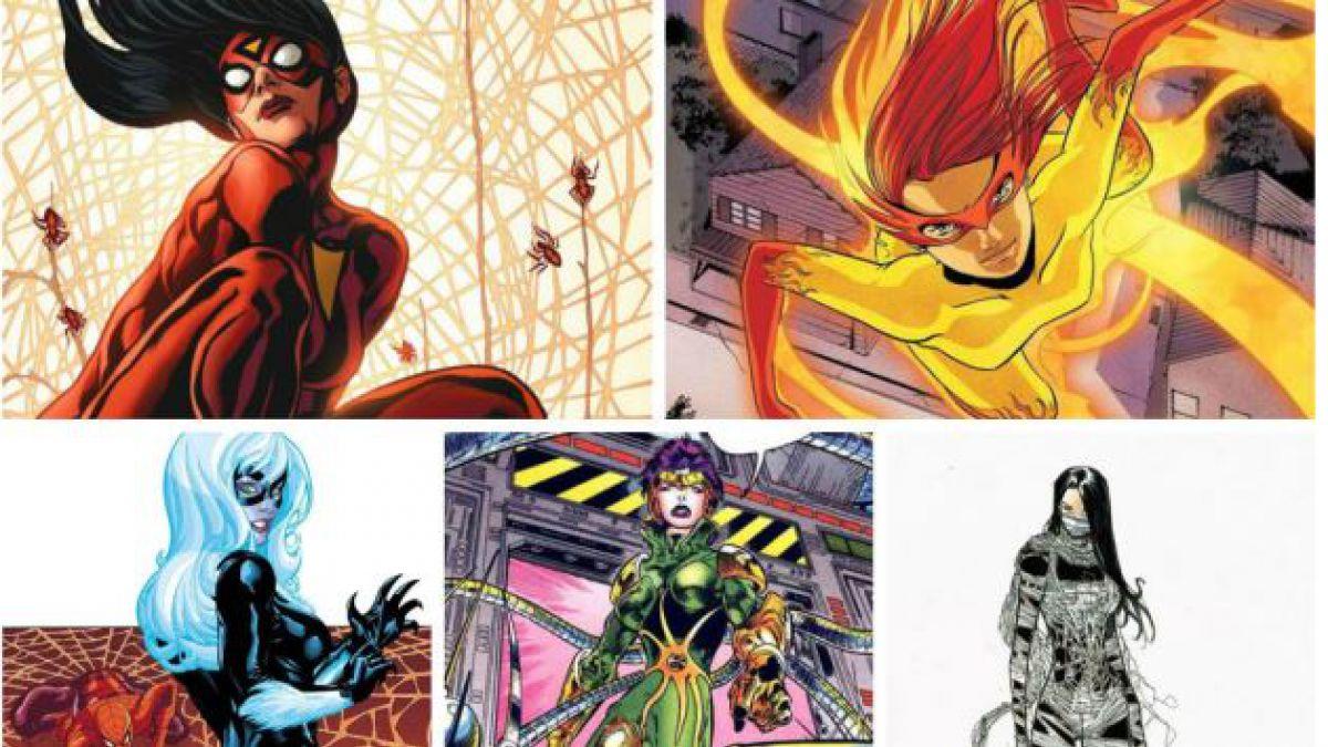 5 heroínas que se barajan para interpretar la versión femenina de Spider-Man