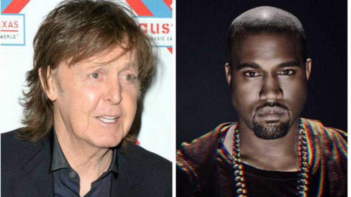 Kanye West y Paul McCartney se encontrarían trabajando juntos en un nuevo álbum