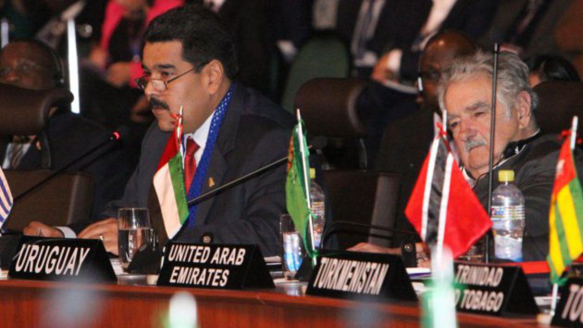 Comitiva chilena ya llegó a la Cumbre del G77 en Bolivia