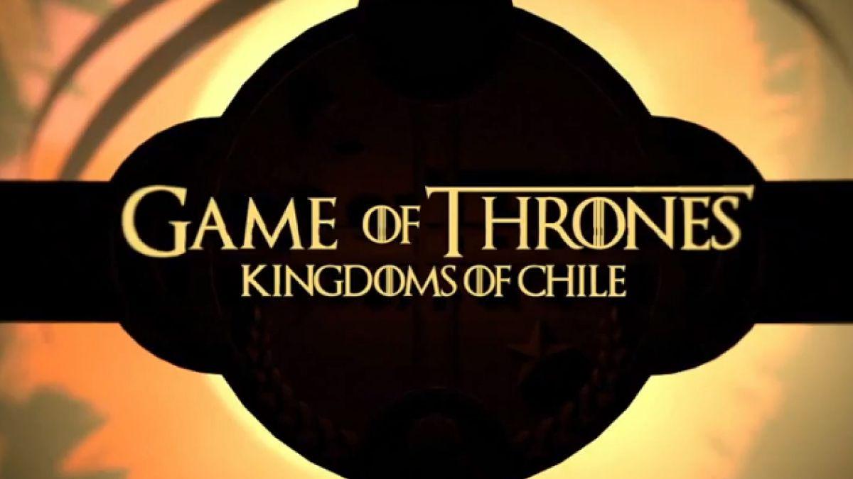 [VIDEO] Crean versión chilena de opening de Game Of Thrones