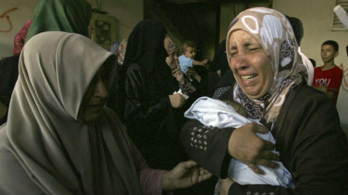 Últimos ataques en Gaza elevan cifra de muertos a 1.737 desde el 8 de julio