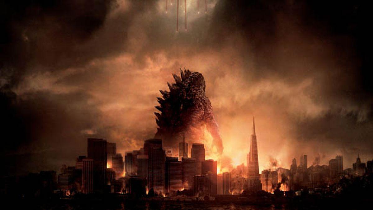 Godzilla versus los edificios más altos de Santiago