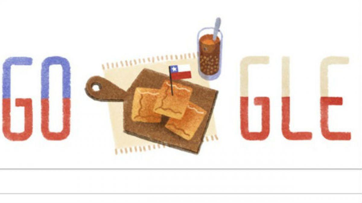 Google dedica un nuevo doodle a Chile