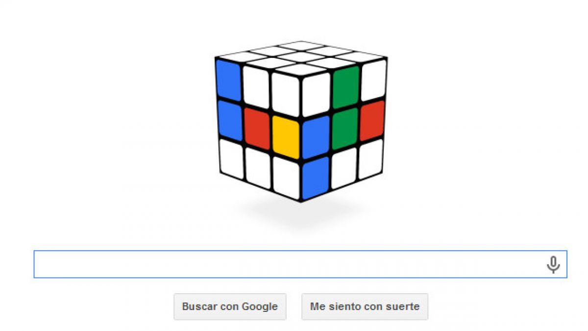 Google celebra 40 años del cubo Rubik