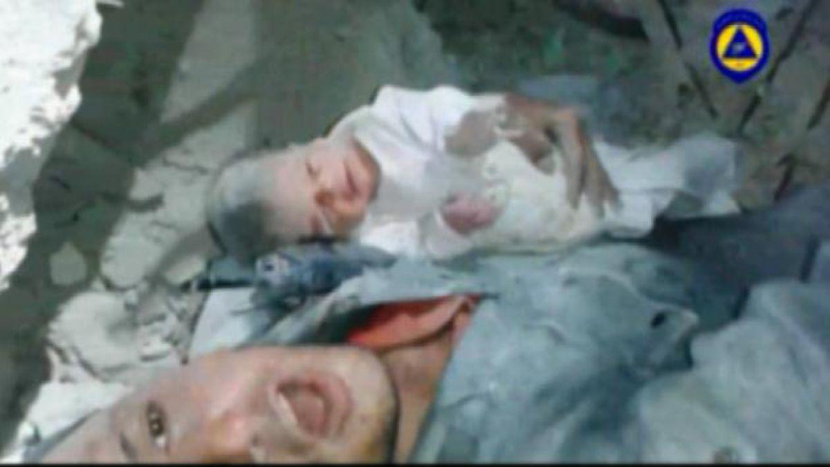 Muere Shimah, la bebé rescatada del vientre de su madre fallecida tras bombardeo en Gaza