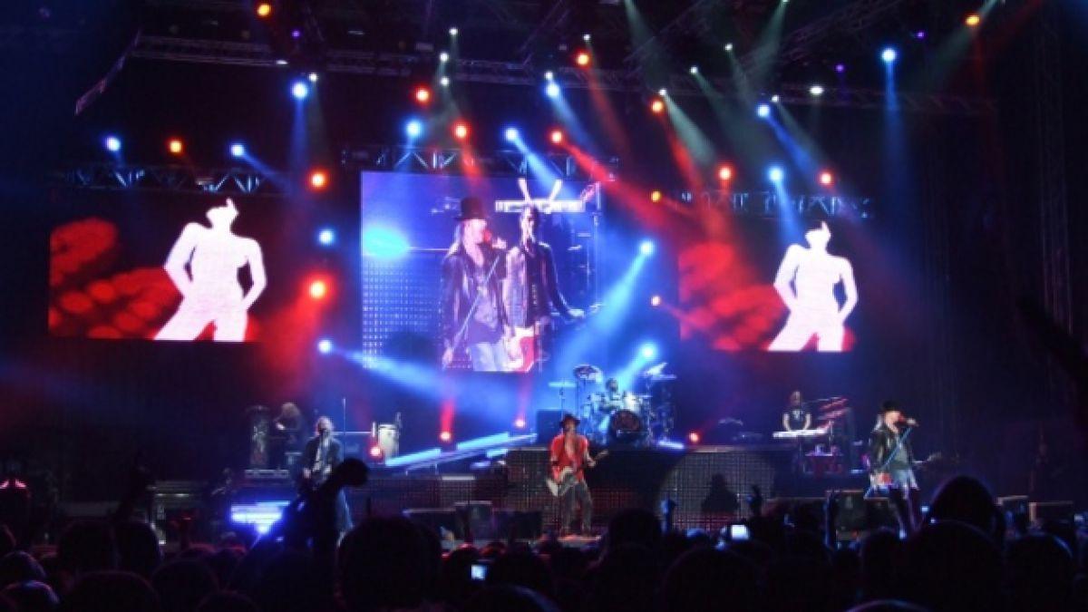 Guns N Roses debuta este jueves en Chile con película en 3D