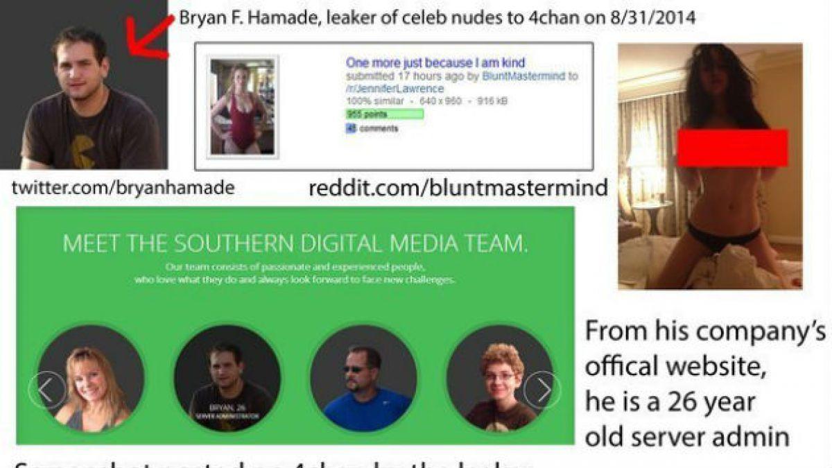 #Celebgate: Este seria el hombre que filtró las fotos de Jennifer Lawrence