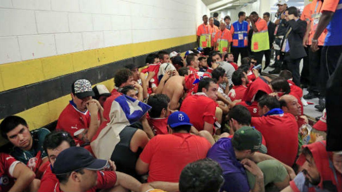 Chileno cuenta cómo irrumpió en el Maracaná, vio el partido y luego se fugó