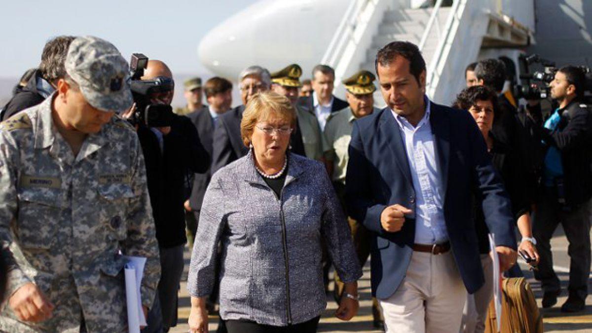Presidenta Bachelet en Arica: Los ciudadanos han mostrado una gran responsabilidad cívica