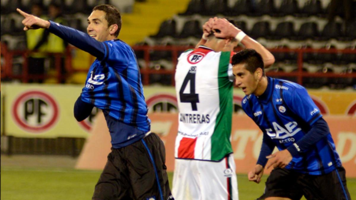 Huachipato escala a la segunda posición tras derrotar a Palestino en el estadio CAP