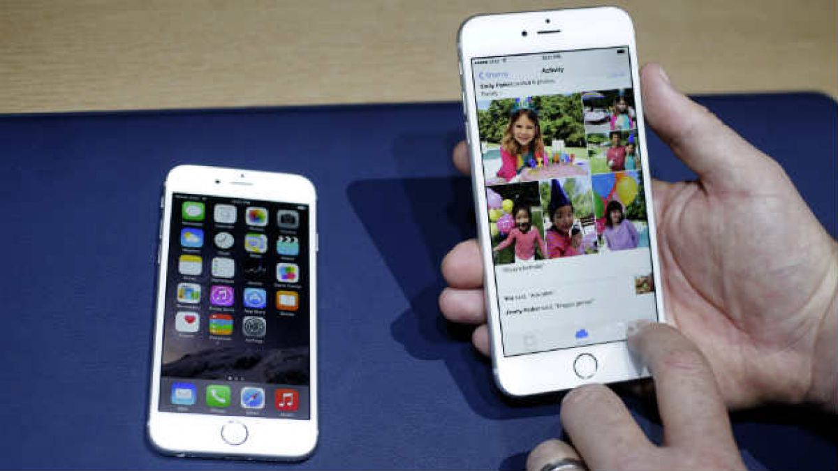 Con memes ya se burlan del iPhone 6 Plus que se dobla