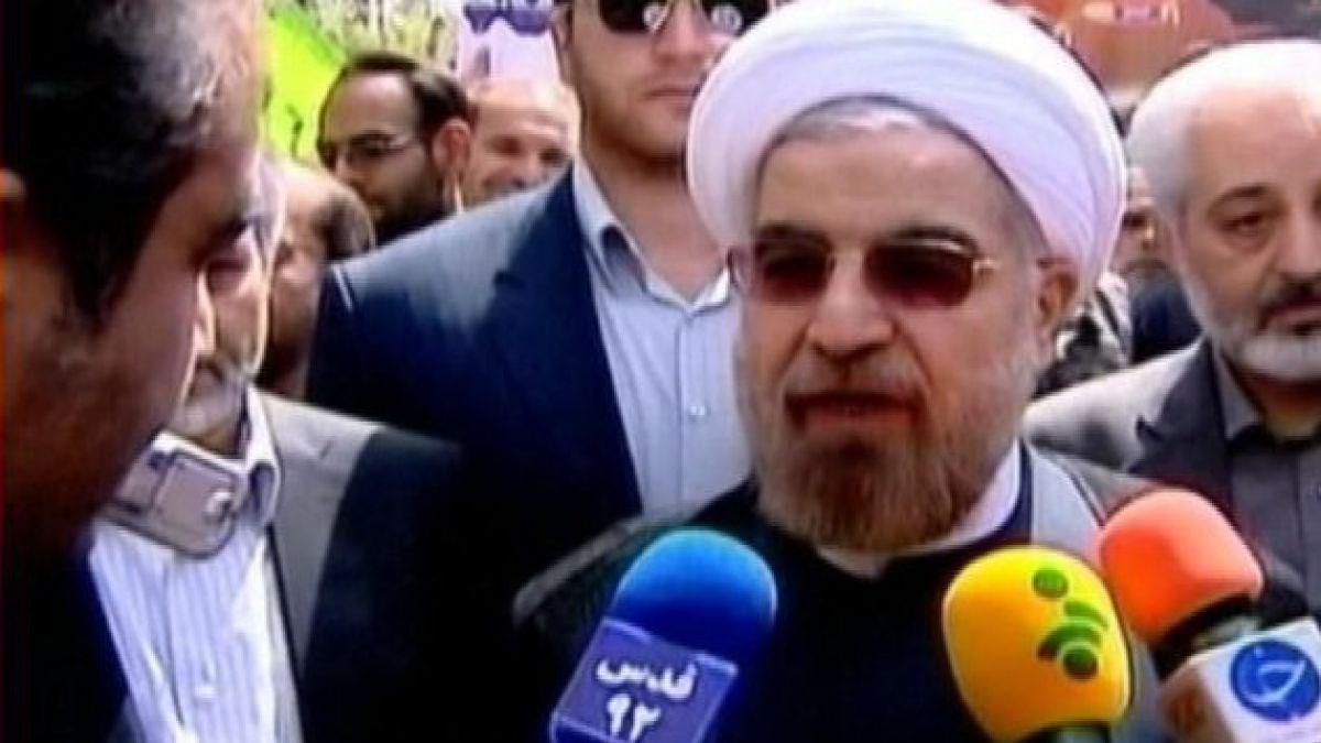 Hassan Rohani es el nuevo presidente de Irán