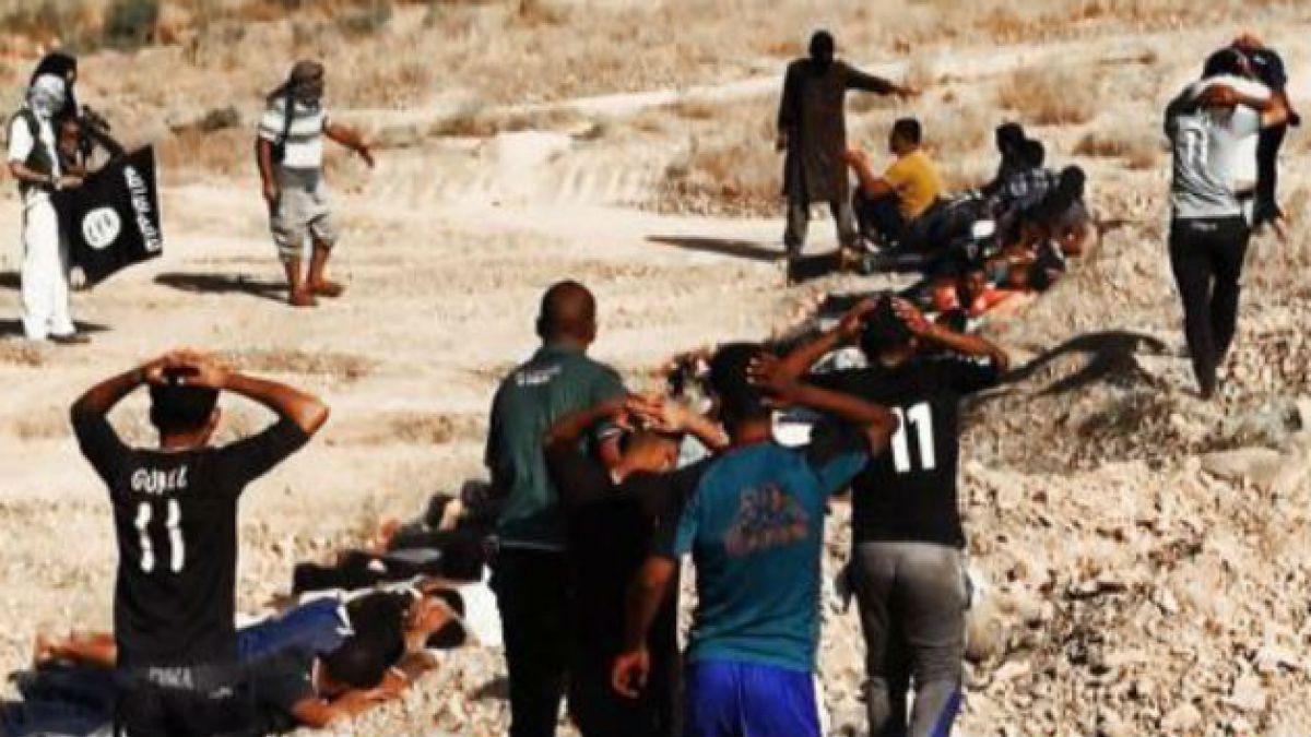 ISIS difunde imágenes de la ejecución de soldados iraquíes, que podrían llegar a 1.700