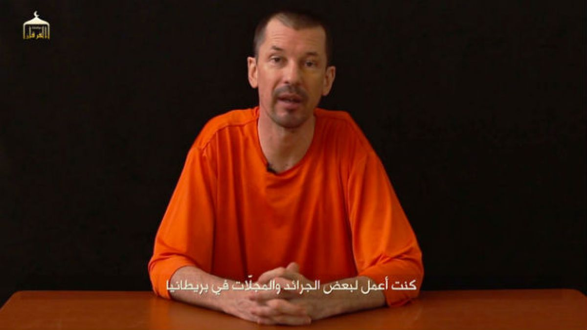 ISIS libera nuevo video de británico secuestrado