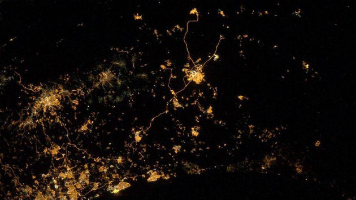 Astronauta registra desde el espacio imágenes de las explosiones de los misiles en Gaza e Israel