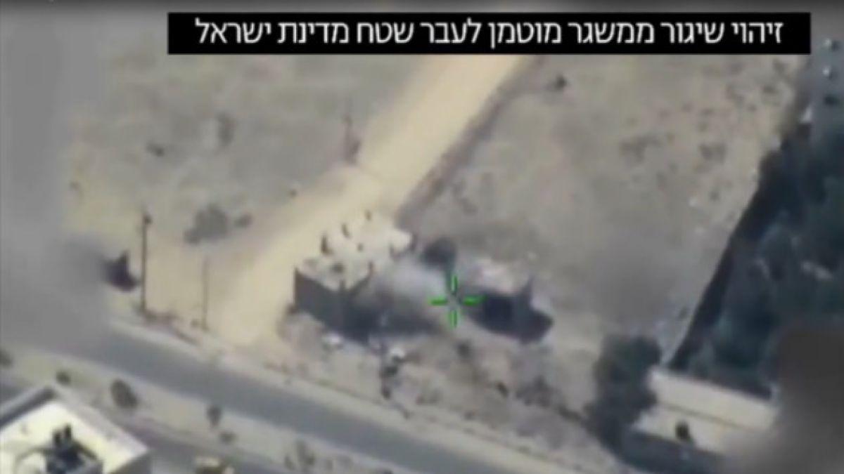 Aviación israelí bombardea dos campos de entrenamiento militar en Franja de Gaza