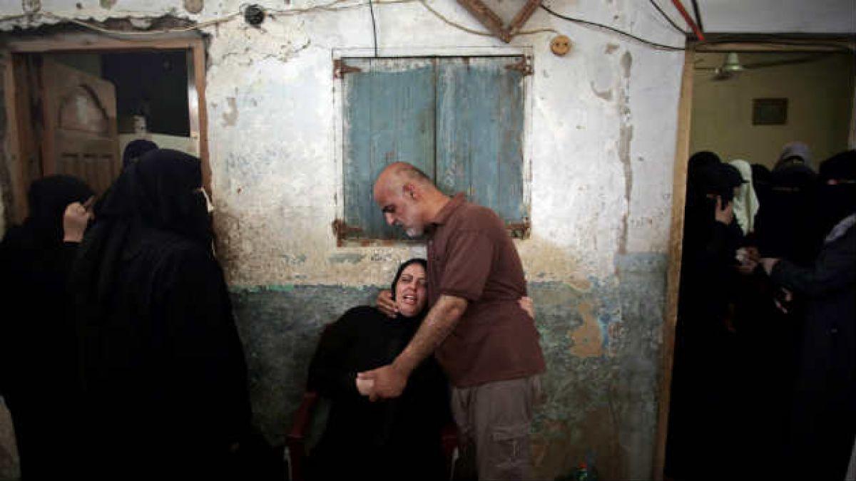 Denuncian que 70% de los palestinos muertos en ofensiva israelí es civil