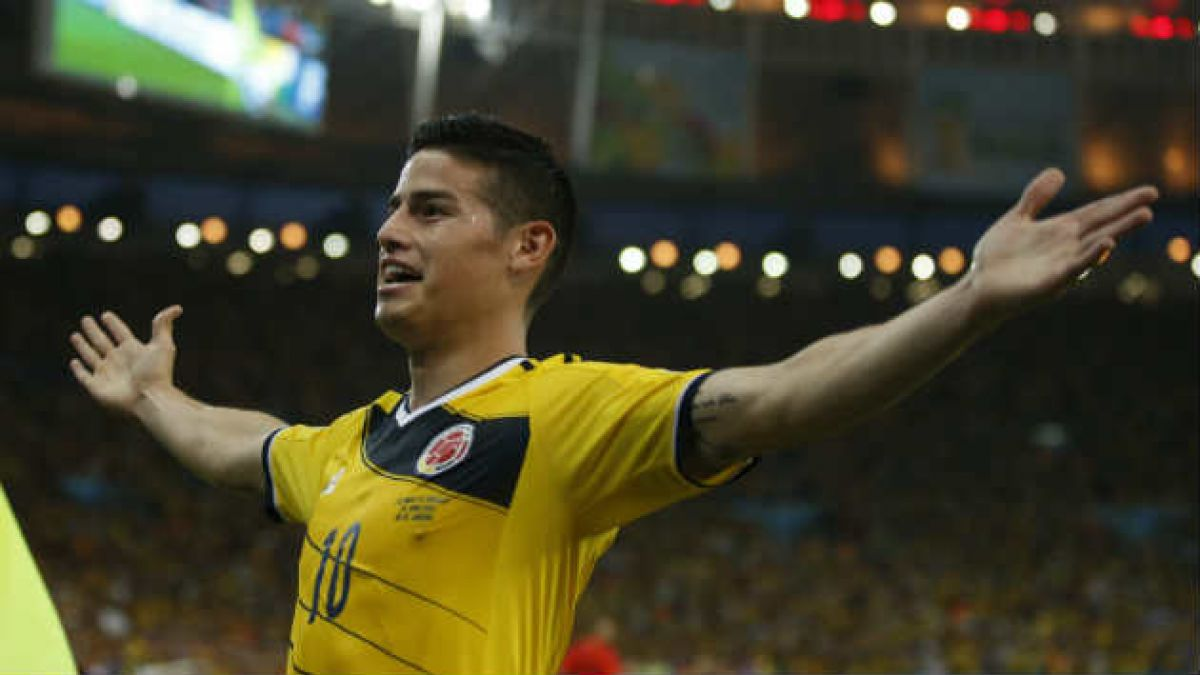 "Colombia apostará a la ""magia"" de James Rodríguez para intentar derribar a Chile"