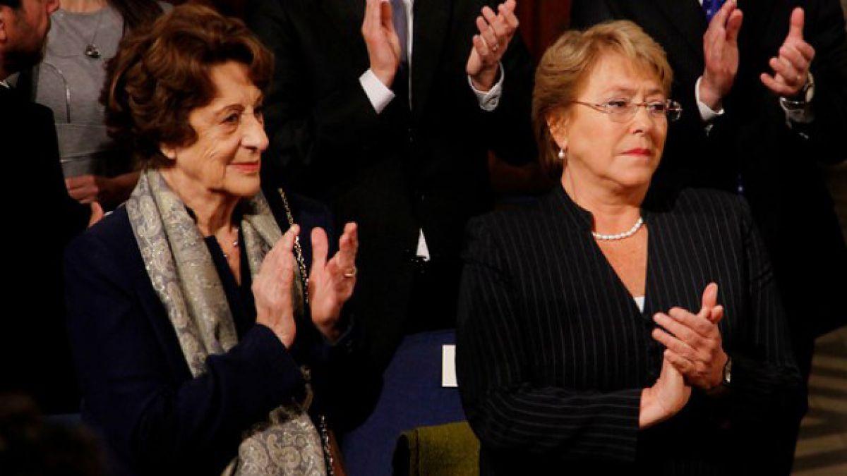 Bachelet en íntimo relato de bombazo: Por cinco minutos mi mamá no fue víctima de eso