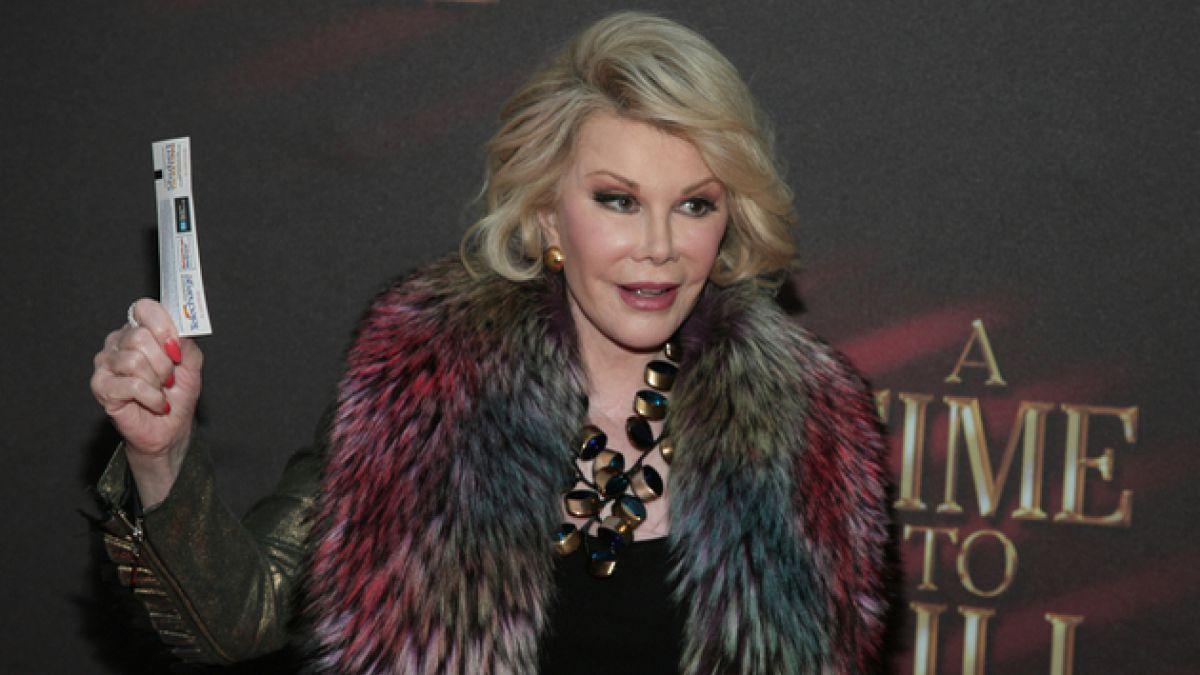 Las 10 frases inolvidables que dejó Joan Rivers