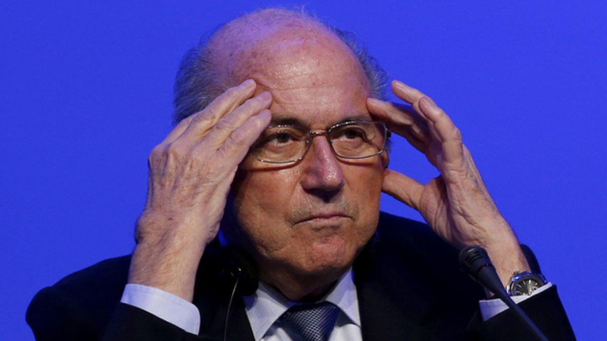 Joseph Blatter plantea cambiar regla del gol de visitante