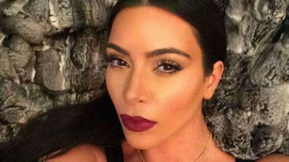 Kim Kardashian lanzará libro con sus selfies