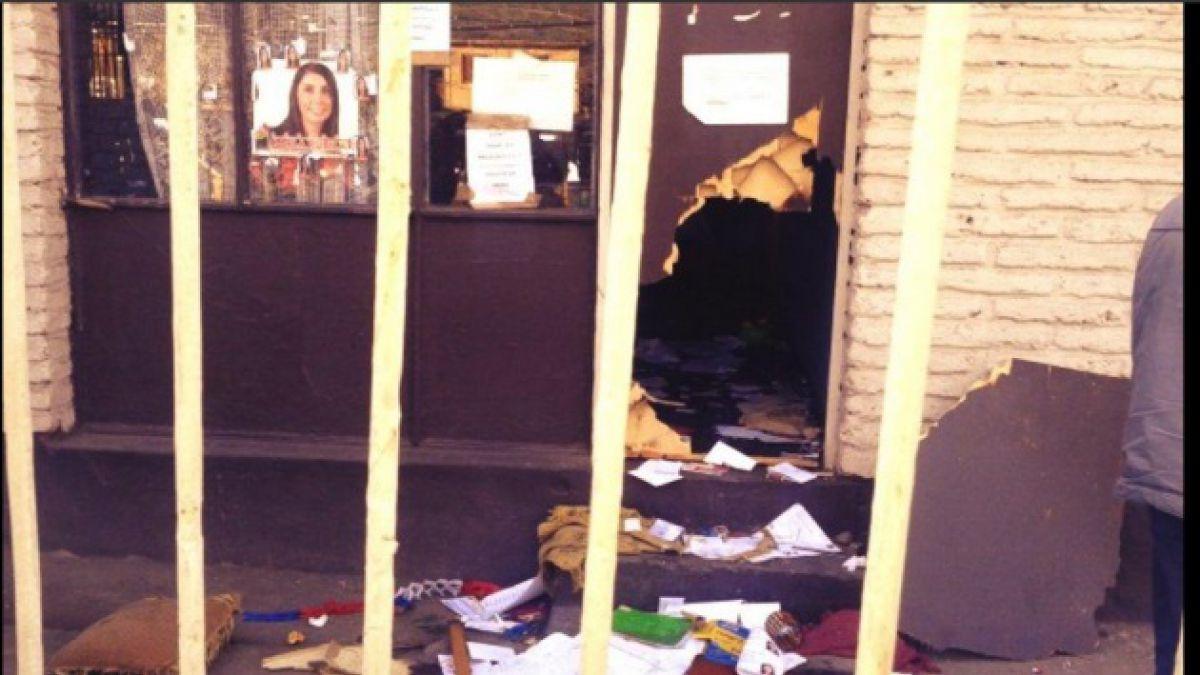 Amplitud condena ataque a sede de diputada Karla Rubilar tras jornada del 11 de septiembre