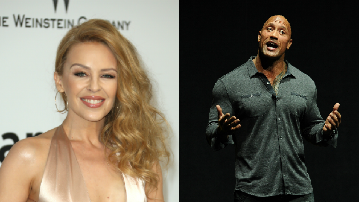 """Kylie Minogue vuelve al cine en compañía de """"La Roca"""""""