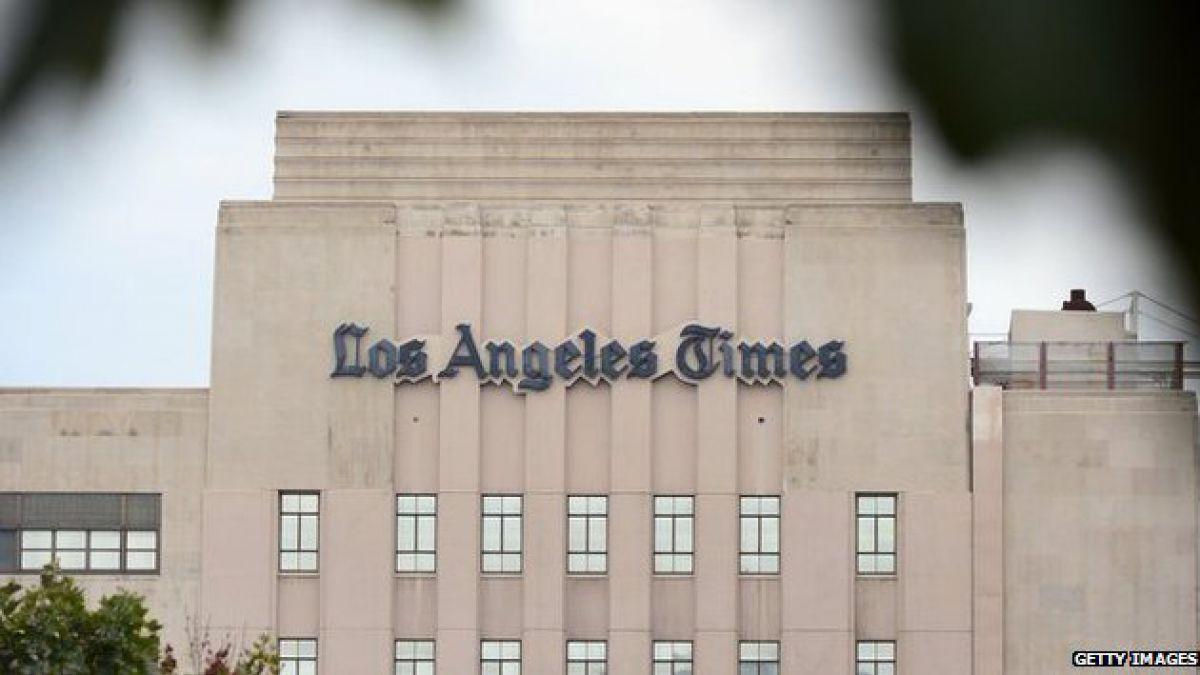 """Diario Los Angeles Times es el primer medio en usar un """"robot-periodista"""""""