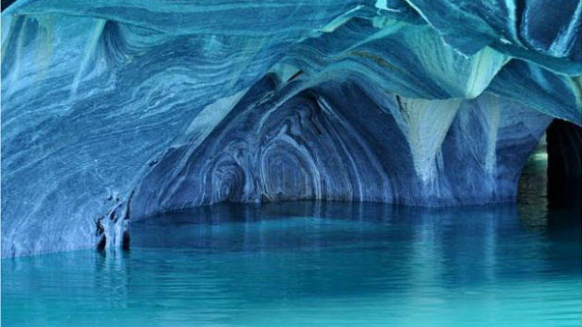 El lago General Carrera es elegido como uno de los 10 paisajes que parecen de otro mundo
