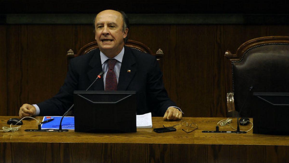 Ex ministro Larroulet: La Nueva Mayoría nos está haciendo las cosas muy fáciles