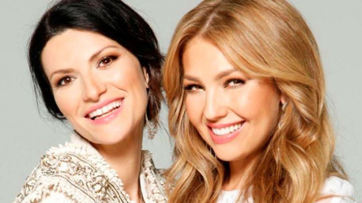 [AUDIO] Escucha Sino a Ti, el dueto de Laura Pausini y Thalia