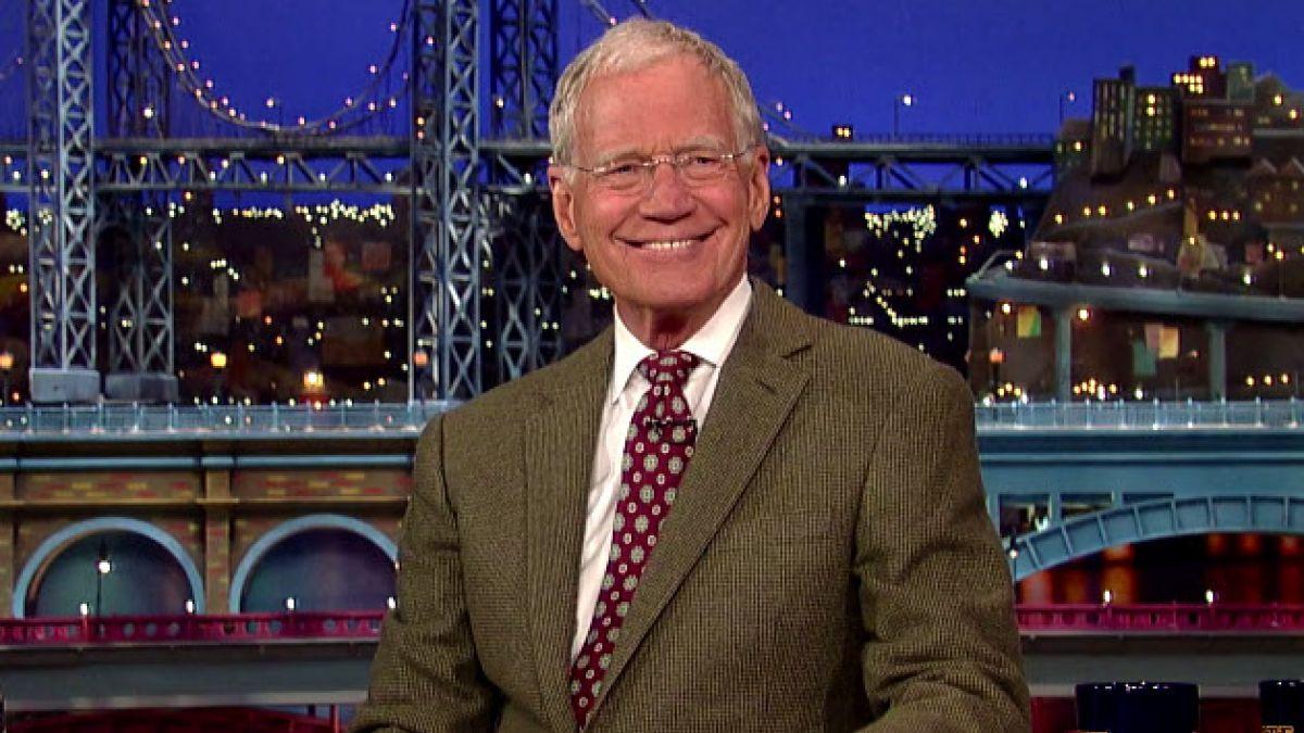 David Letterman anuncia su retiro
