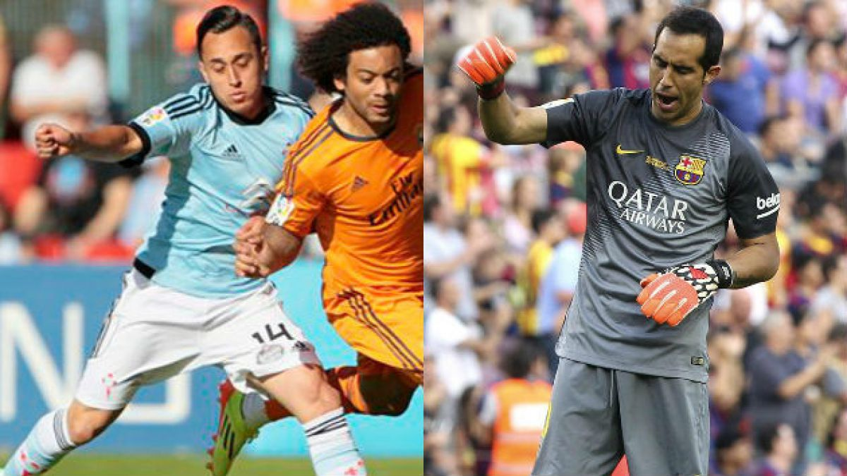 Hinchas escogen a Bravo y Orellana dentro del once ideal de septiembre de la Liga Española