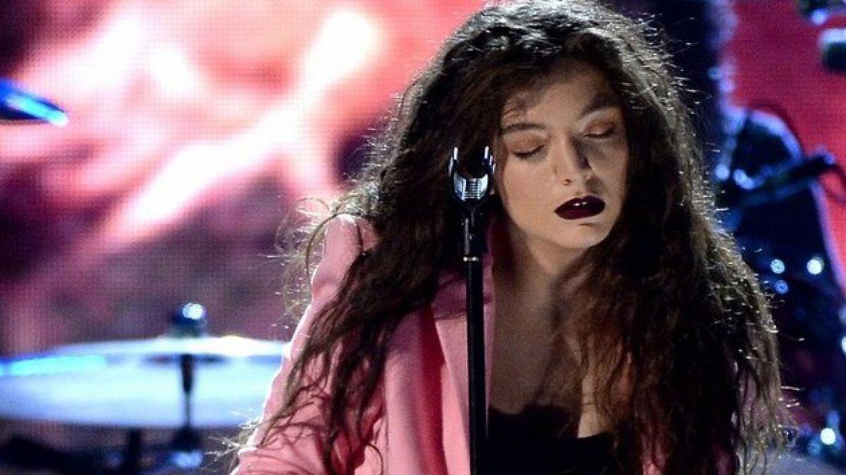 Lorde es la primera mujer en ganar un premio MTV a Mejor Video de Rock