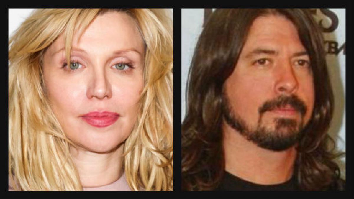Courtney Love quiere arreglar relación con Dave Grohl