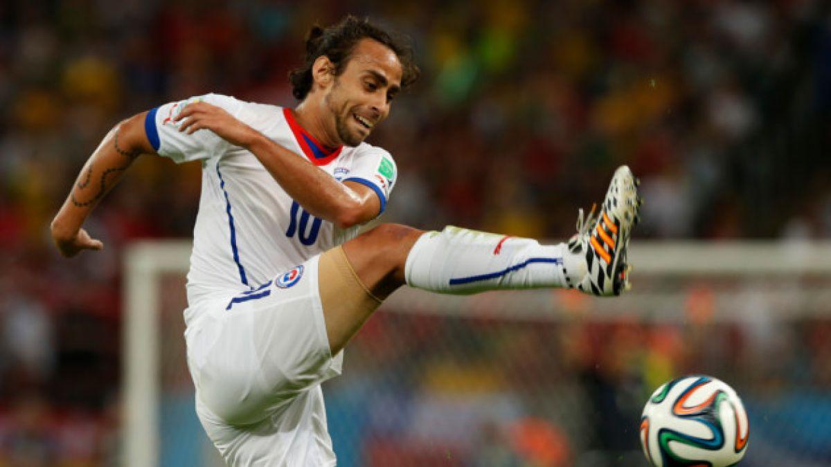 Jorge Valdivia pidió suspender su nominación a la Selección Chilena