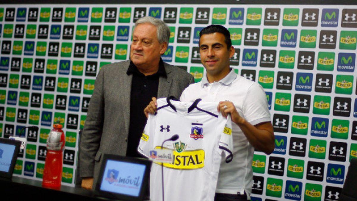 Claudio Maldonado firma por Colo Colo y esperar jugar tres años más
