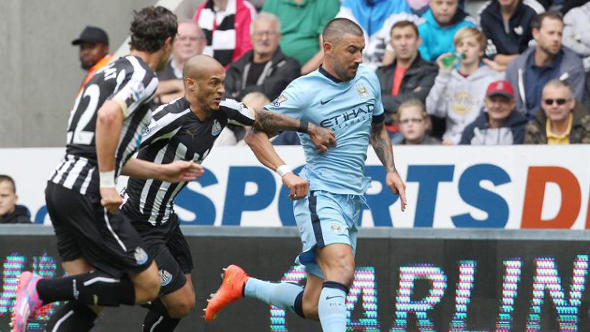 El Manchester City de Pellegrini comienza con un triunfo la defensa del título de la Premier League