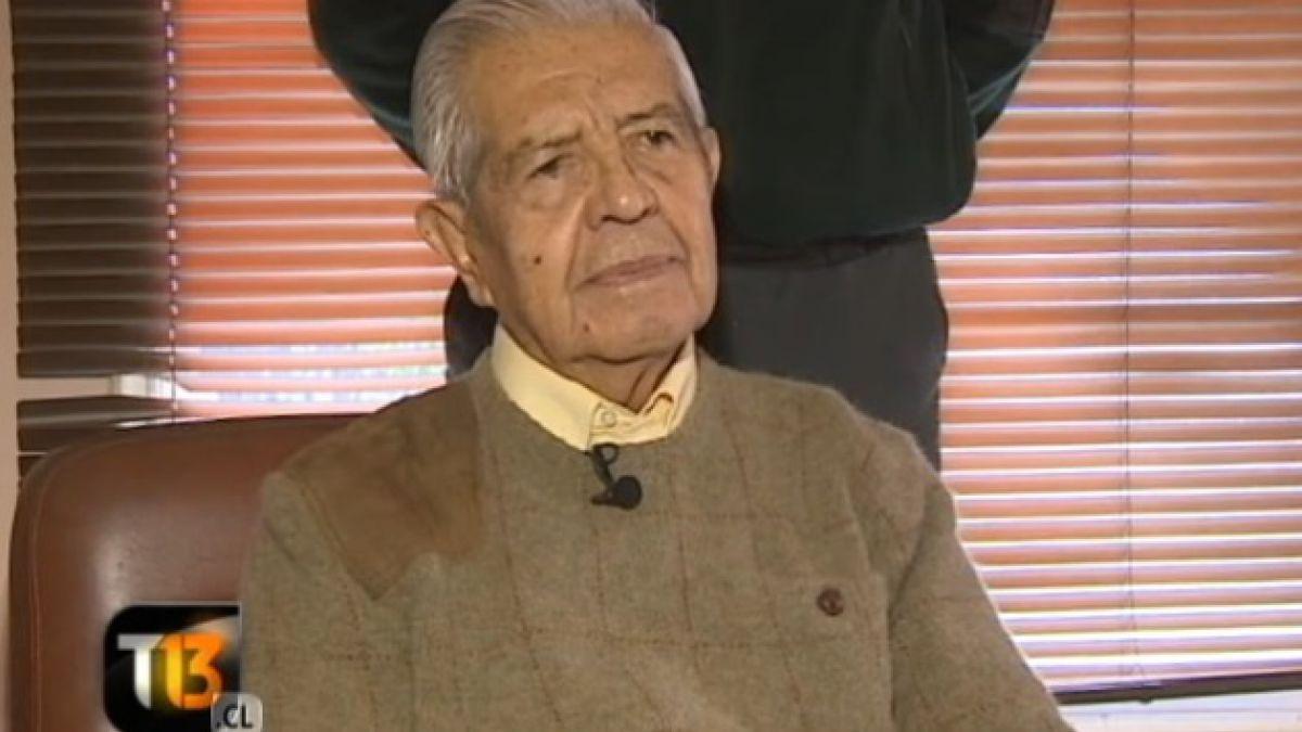Manuel Contreras permanece estable y sin riesgo vital internado en el Hospital Militar