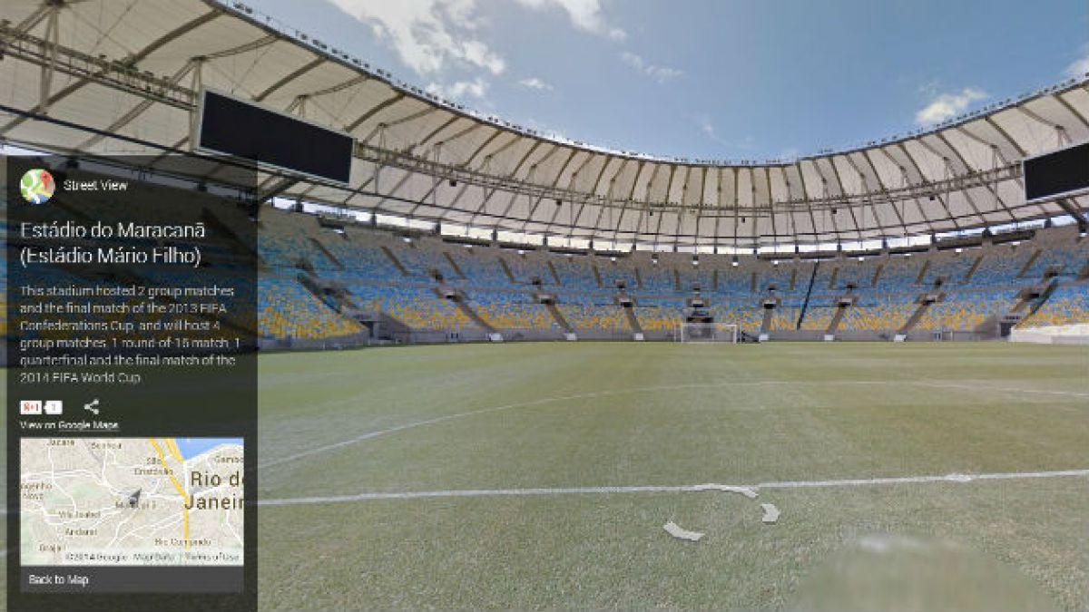 Google Street View permite ver los 12 estadios de Brasil 2014