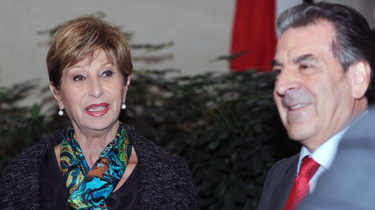 Marta Larraechea se encuentra internada por problema cardíaco