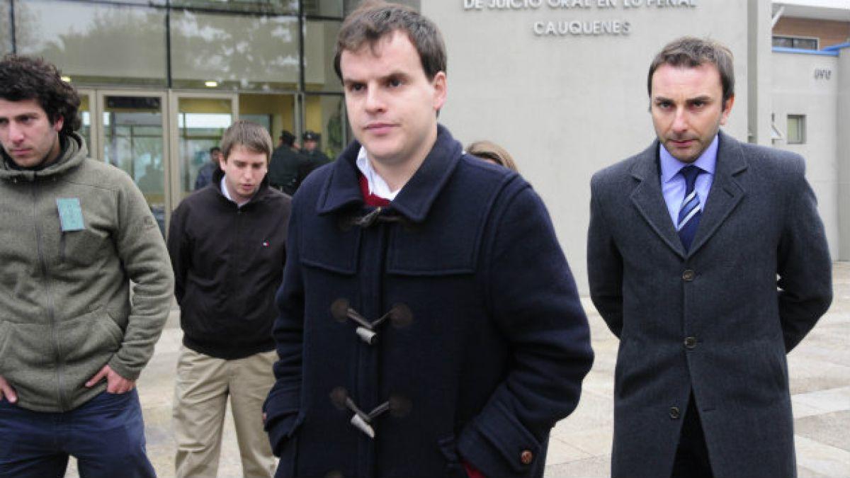 Tribunal sanciona a Martín Larraín con 540 de presidio menor y le otorga beneficio de pena remitida