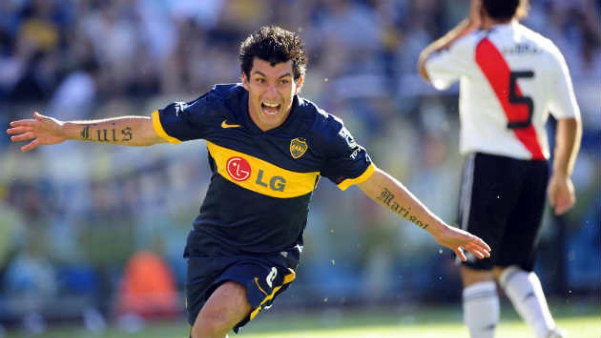 Fuenzalida se convierte en el sexto chileno en jugar por Boca Juniors