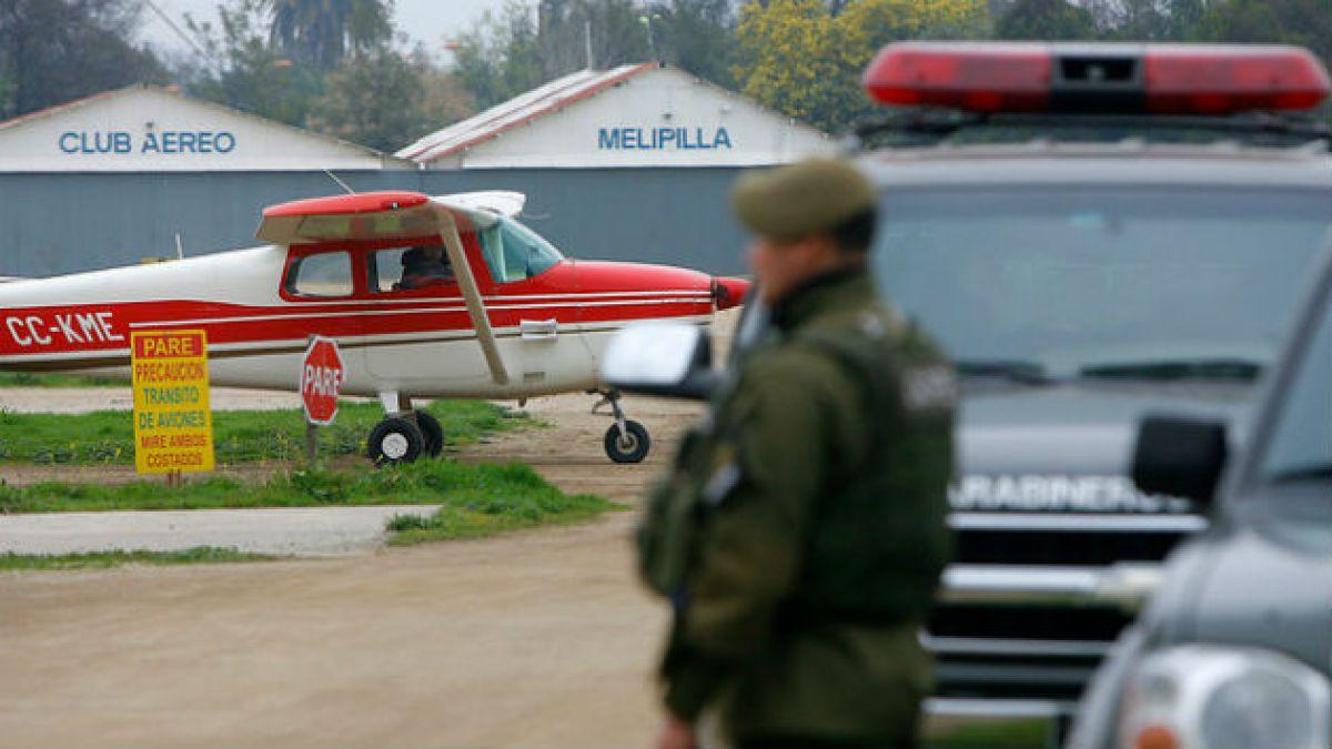 Avioneta siniestrada en Melipilla: Intendente Orrego entrega condolencias a familiares