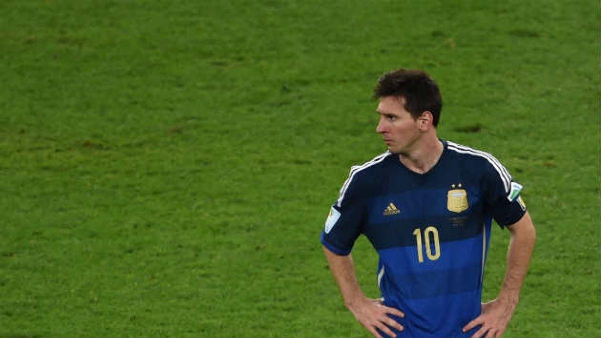 Juez rechaza cerrar causa contra Lionel Messi