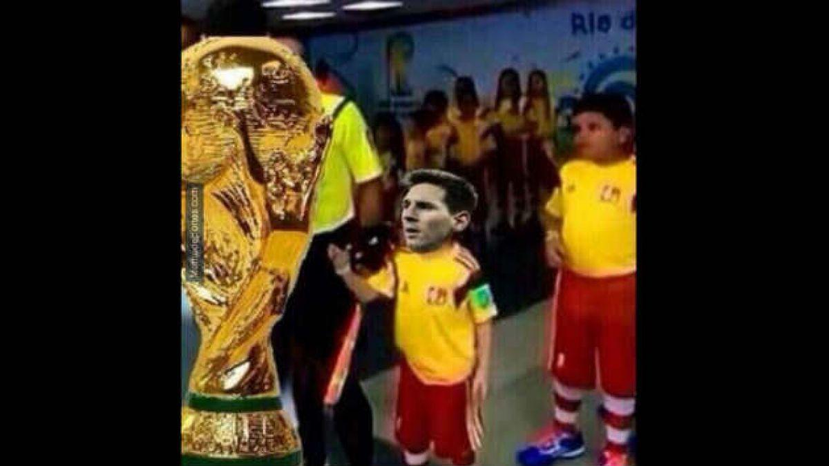 Messi fue el blanco de los memes tras la derrota de Argentina