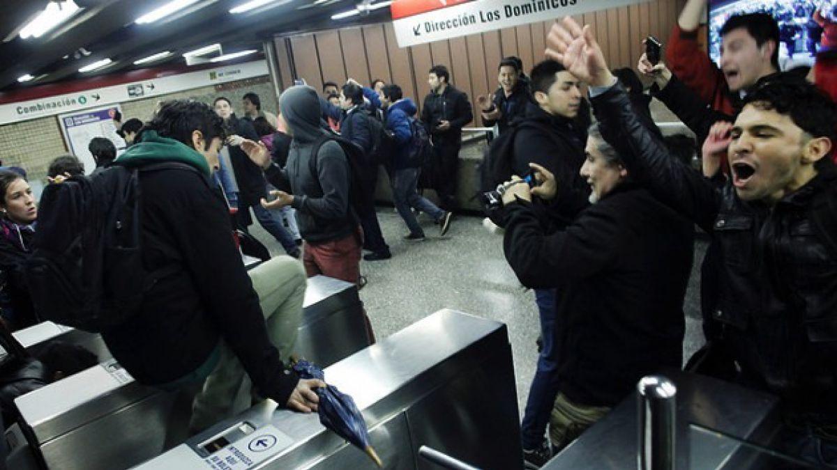 Evasión en el Metro, por Iván Poduje