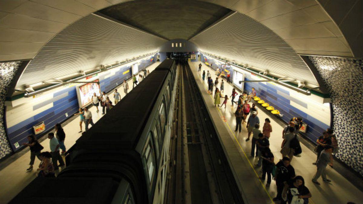 Un tercio de incidentes no asociados a averías en el Metro de Santiago son ocasionados por problemas